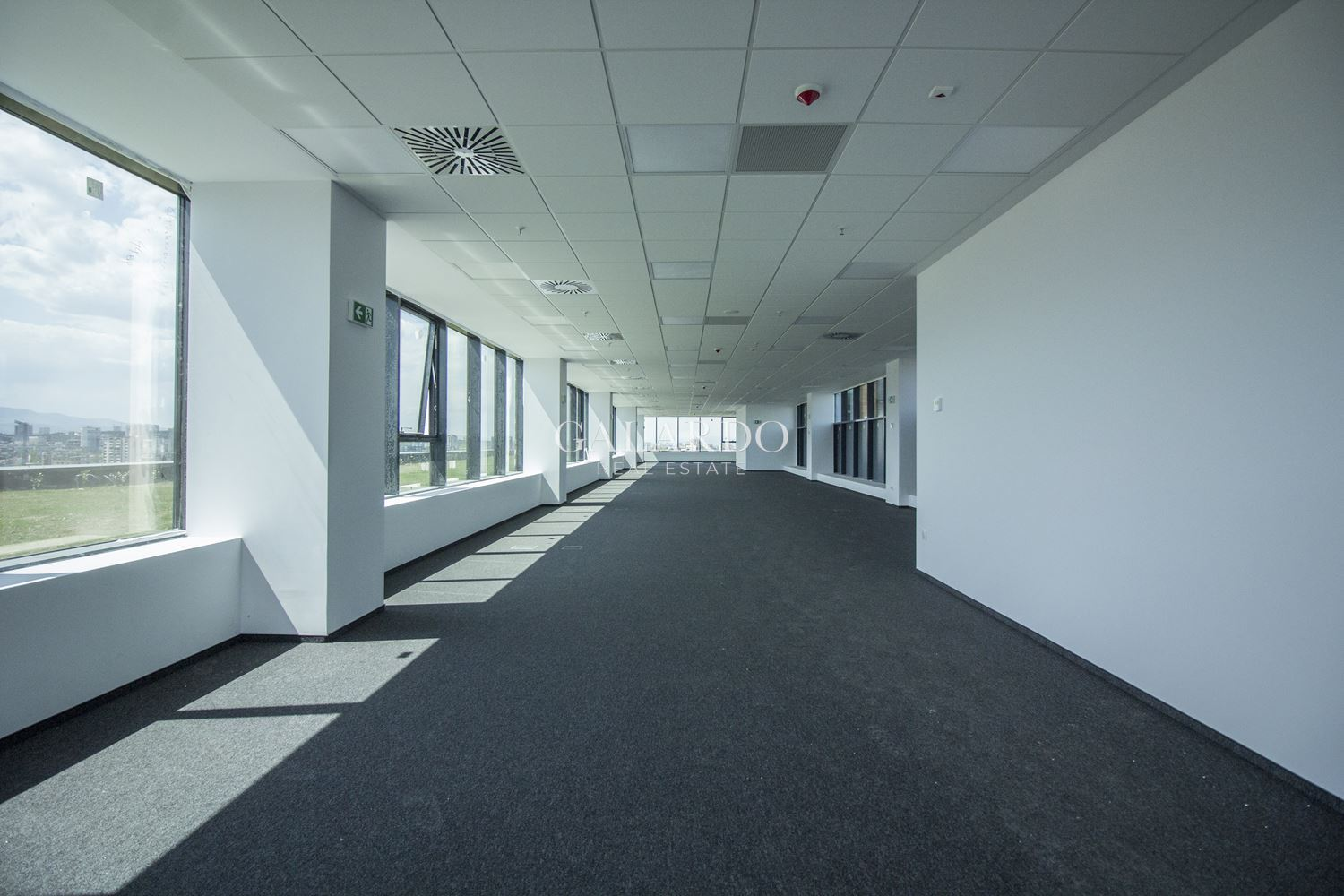 Bright and spacious office in a luxury office building