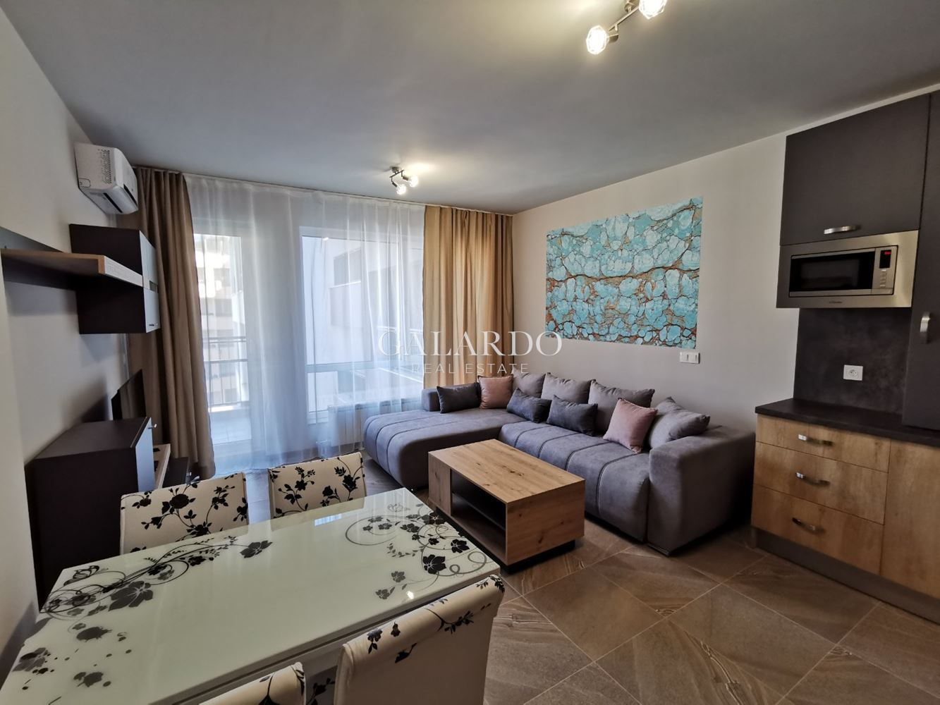 One bedroom apartment in a gated complex in Krustova Vada