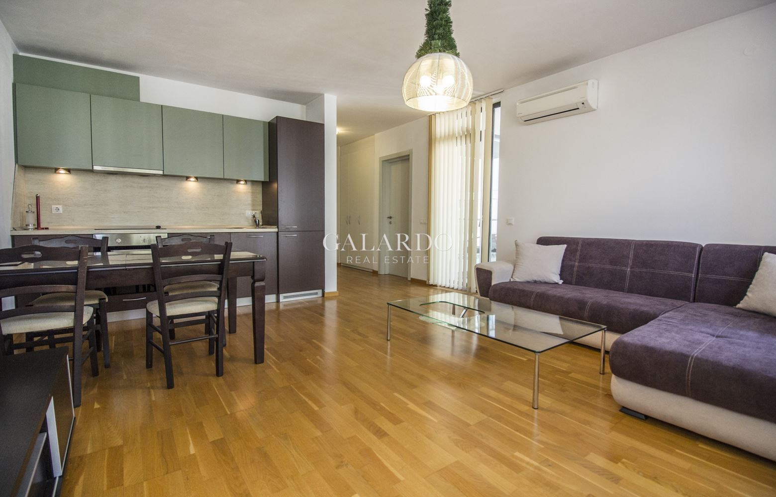 One bedroom apartment for rent in a gated complex