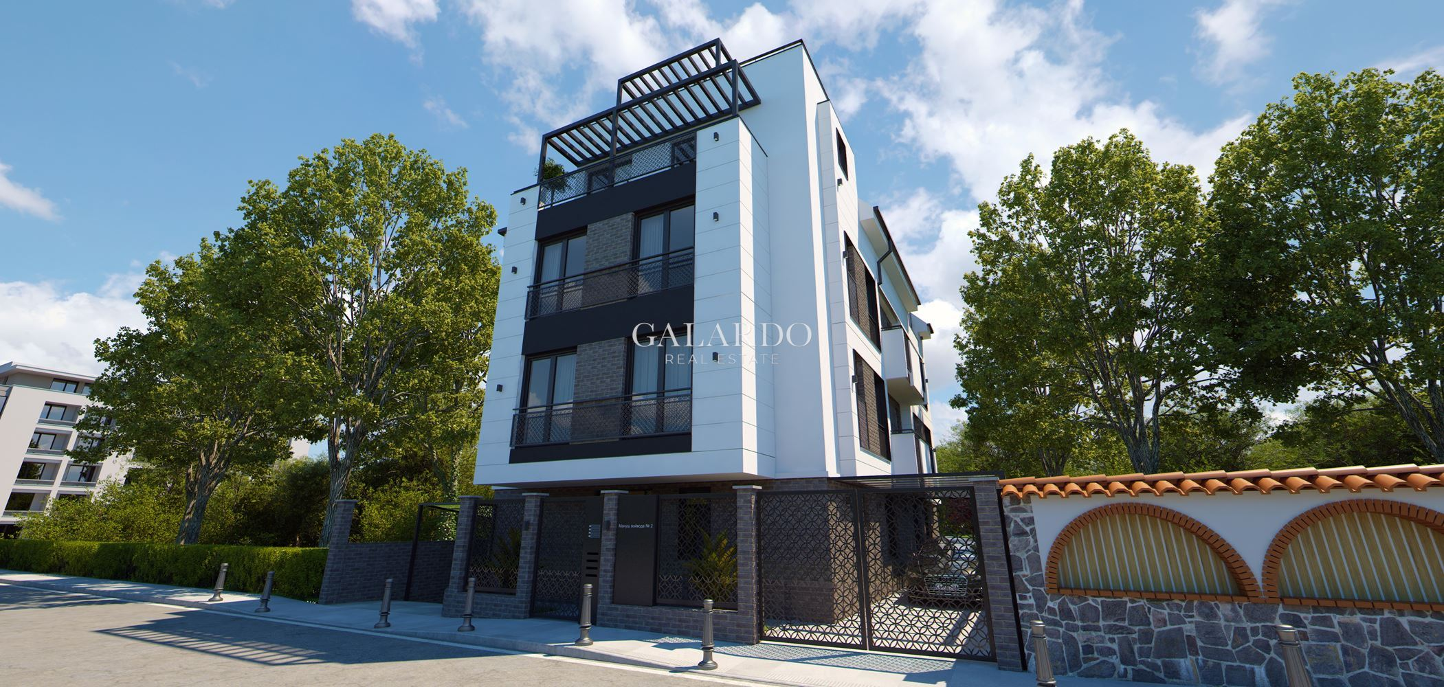 Luxury boutique residential building in the heart of Sofia