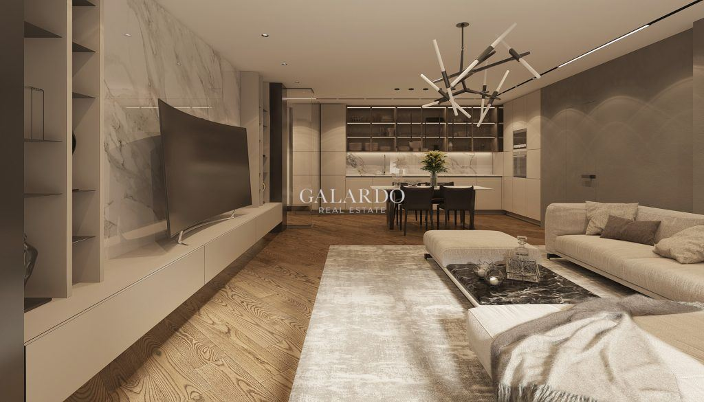 Four-bedroom penthouse with great location in Dragalevtsi