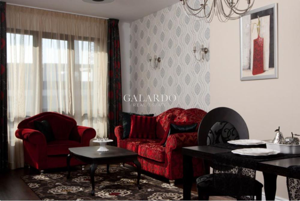 Furnished two-bedroom apartment in a gated complex in Iztok