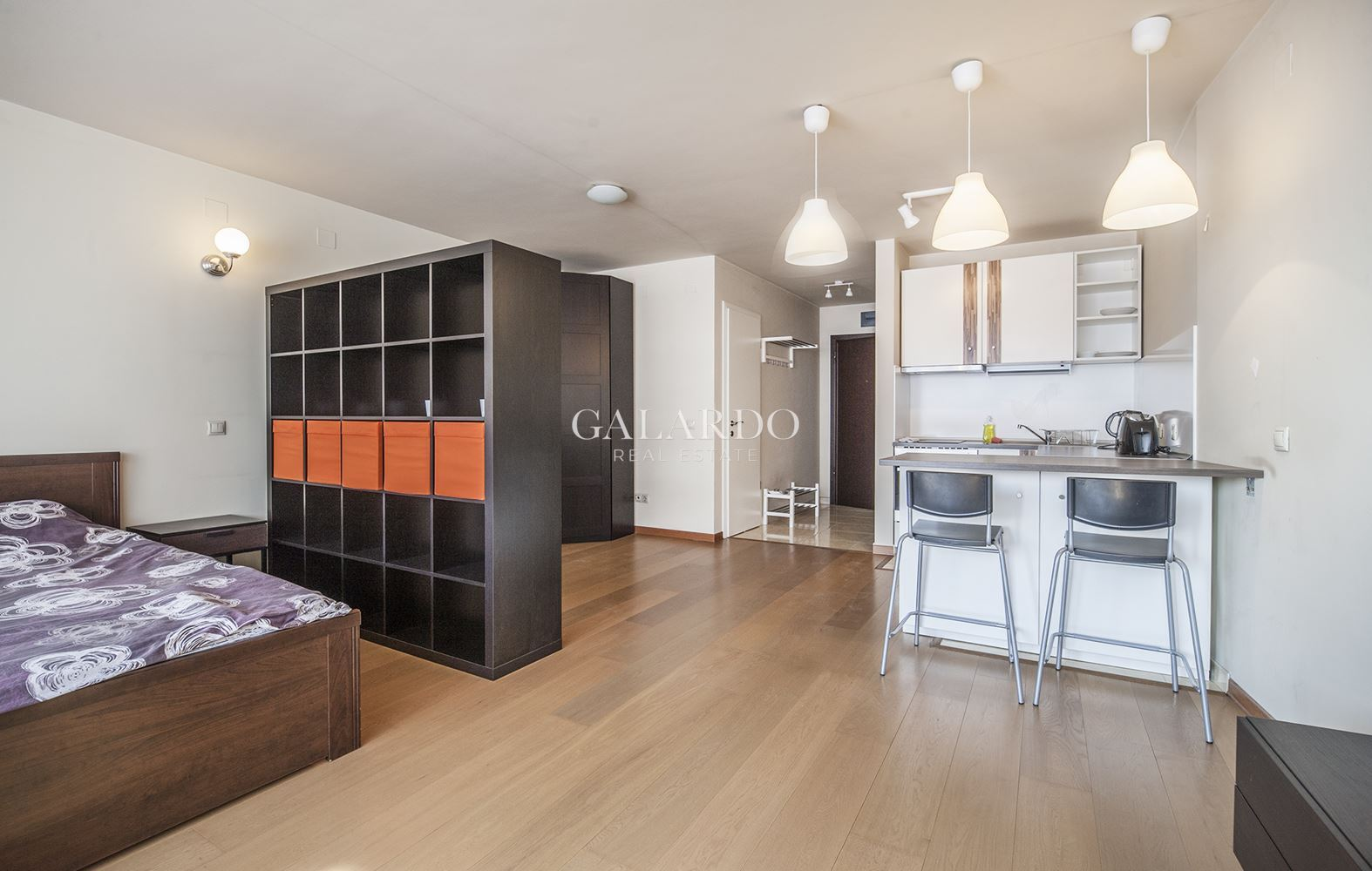 Fully furnished studio in the center of Sofia.