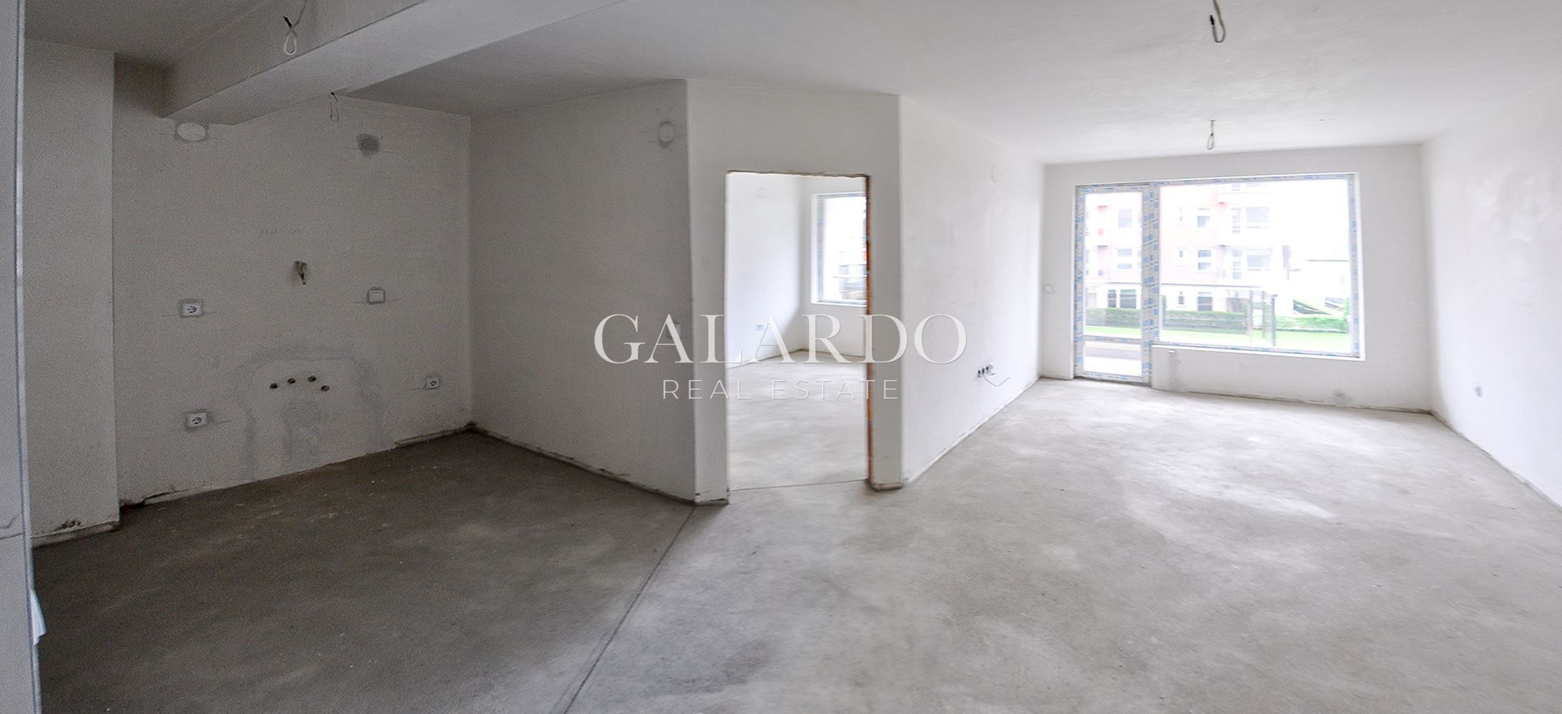 One-bedroom apartment in gated complex