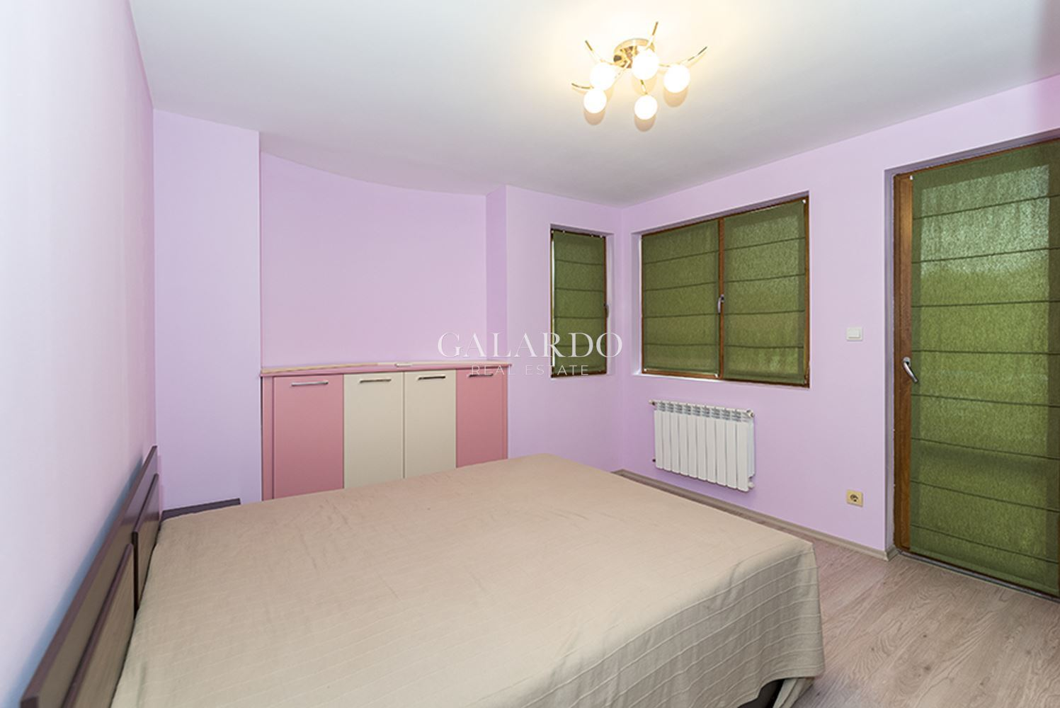 Furnished two-bedrooms apartment in a gated complex in Vitosha quarter